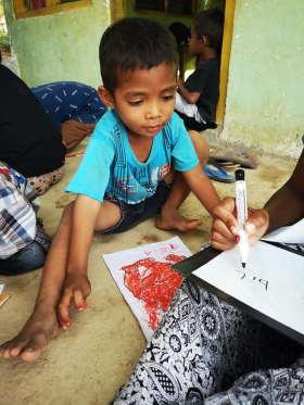 drawing-anak-alam-flores